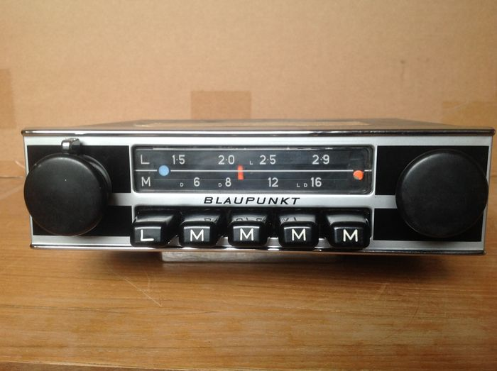 blaupunkt hamburg oldtimer car radio 1969 catawiki. Black Bedroom Furniture Sets. Home Design Ideas