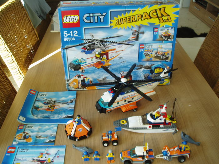 City 66306 4642 City Super Pack 3 In 1 7736 7737 7738