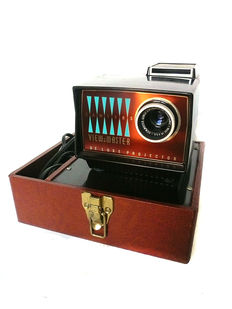 Sawyers View-Master 300 watt Deluxe projector in luxe draagkoffer