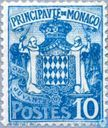 Postage Stamps - Monaco - State Coat of Arms