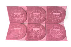 The Netherlands – Year sets (Proof) 1996/2001, Beatrix (6 different ones), complete.