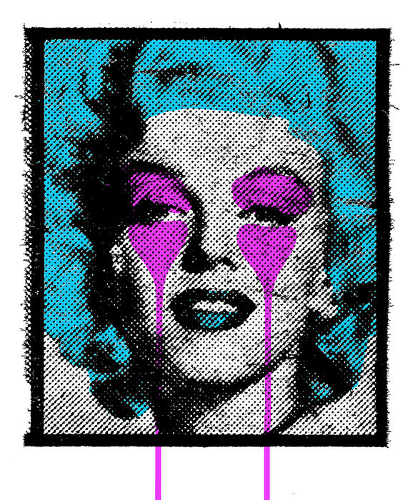 Pure Evil - Marilyn (Blue / Purple)