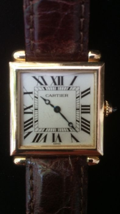 Cartier Tank Obus Ref. 1630 - Unisex watch - Ca.- 1996