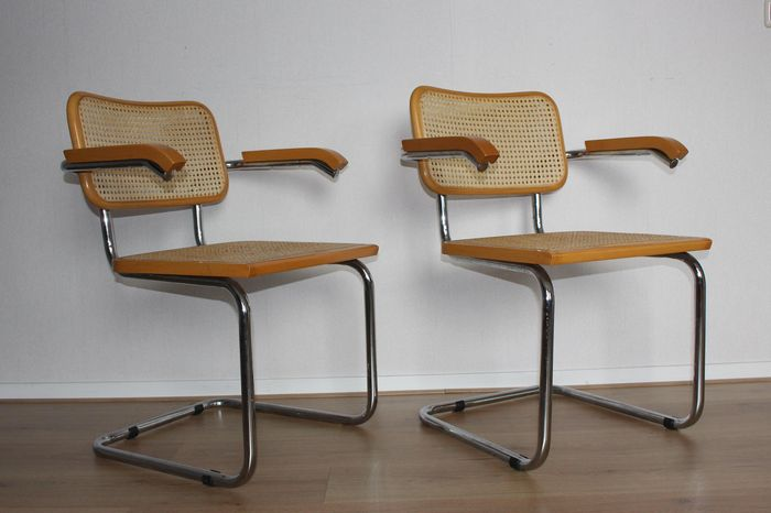Finest Marcel Breuer – 2x Cesca chair – Replica - Catawiki WJ41