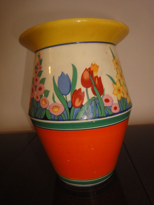 Art Deco Wilkinson Pottery Vase With Chloris Decor Catawiki