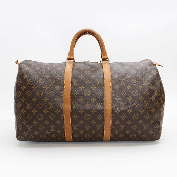 louis vuitton keepall 50 reisetasche catawiki. Black Bedroom Furniture Sets. Home Design Ideas