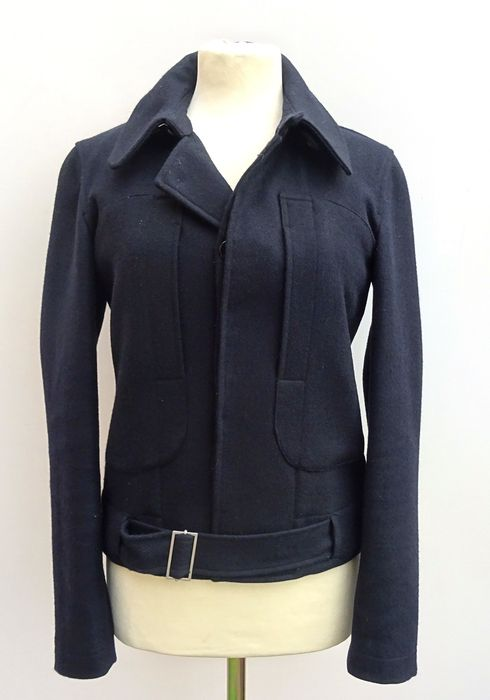 6f6e615cfbbe Tommy Hilfiger - short 100% wool jacket with belt, special edition ...