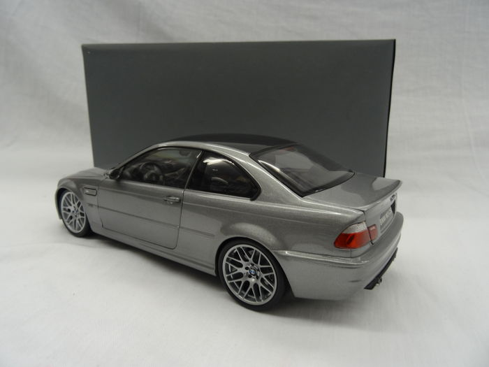 kyosho scale 1 18 bmw m3 e46 csl grey catawiki. Black Bedroom Furniture Sets. Home Design Ideas