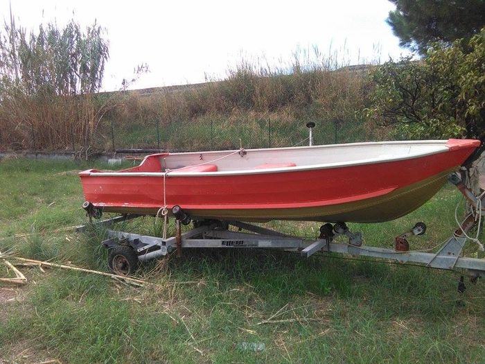 Aluminium - lightweight sheet launch boat - 2010-Italy