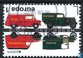 Dutch postal cars