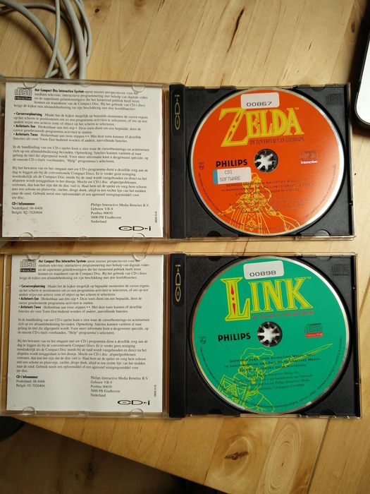 Lot of 3 Nintendo games for CD-i - Hotel Mario, Zelda: The Wand of Gamelon,  Link: Faces of Evil - Catawiki