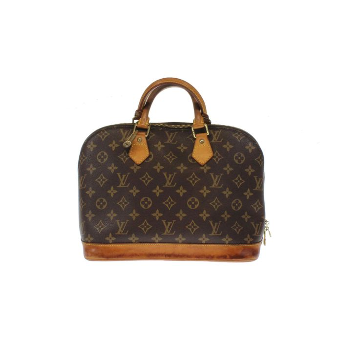 louis vuitton monogram alma pm handtasche catawiki. Black Bedroom Furniture Sets. Home Design Ideas