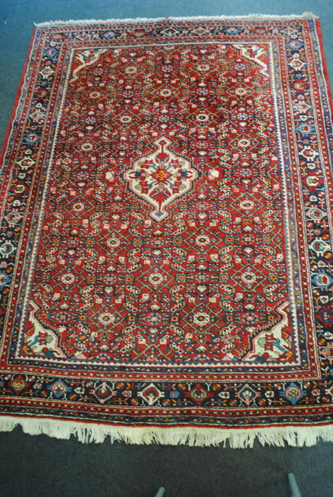 Magnificent Persian authentic Anjalassi carpet 207 x 160 cm, Iran, around 1980