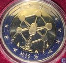 "België 2 euro 2006 (PROOF) ""Reopening of the Brussels Atomium"""