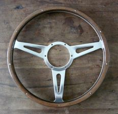 Genuine Original Mountney 15 inch (38cm) Wood Riveted Steering Wheel