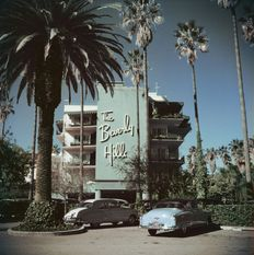 Slim Aarons (1916-2006) - 'Beverly Hills Hotel' Beverly Hills, 1957