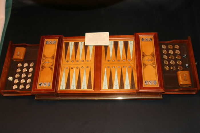 Franklin Mint The Excalibur Backgammon Game Catawiki