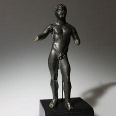 Etruscan bronze figure of Apollo - 10cm