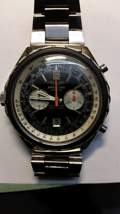 Breitling Navitimer Iraqi Air Force Ref. 1806 - men's wristwatch - early 1980s