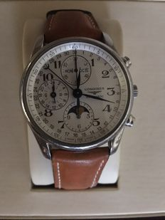 LONGINES Moonphase Master Collection. Men's wristwatch.