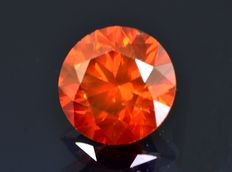 Red diamond 1.52 ct