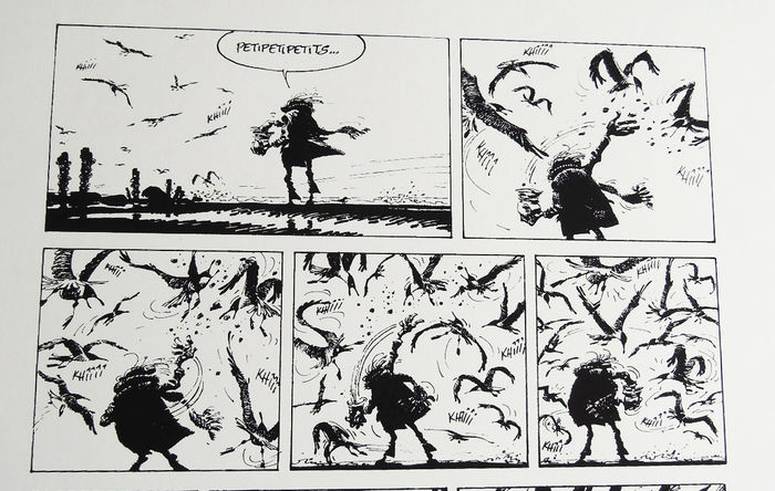 Franquin Andre Screen Print Les Idees Noires Les Catawiki