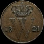 Check out our The Netherlands – ½ cent 1821B Willem I