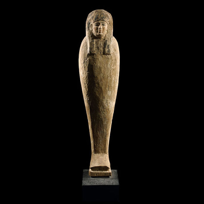 Egyptian wood Ptah-Sokar-Osiris figure, 49 cm