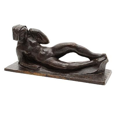 Hubert van Lith - Nude lying