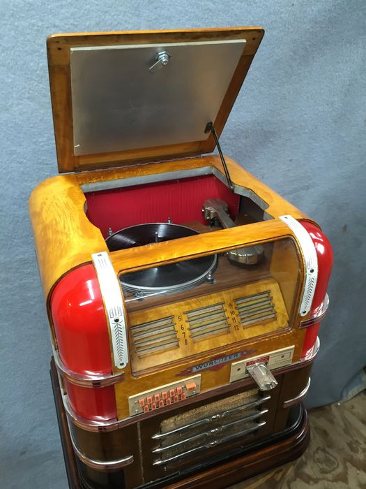 Wurlitzer 61 countertop jukebox - Catawiki