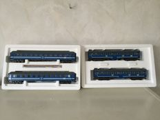 Märklin H0 - 42891/42892 – Two expansion sets 2 and 2 Tegernsee carriages