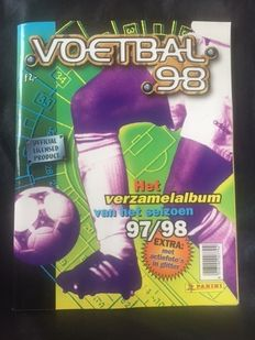 Panini - Voetbal 98 - Complete loose sticker set + Empty album.