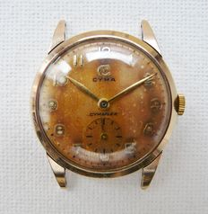 CYMA Man's Dress Wrist Watch Circa 1950