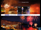New year's celebrations in Madeira