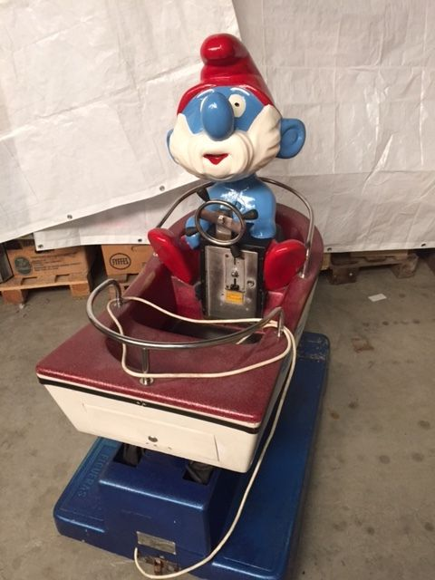 Kiddy ride - Grote Smurf