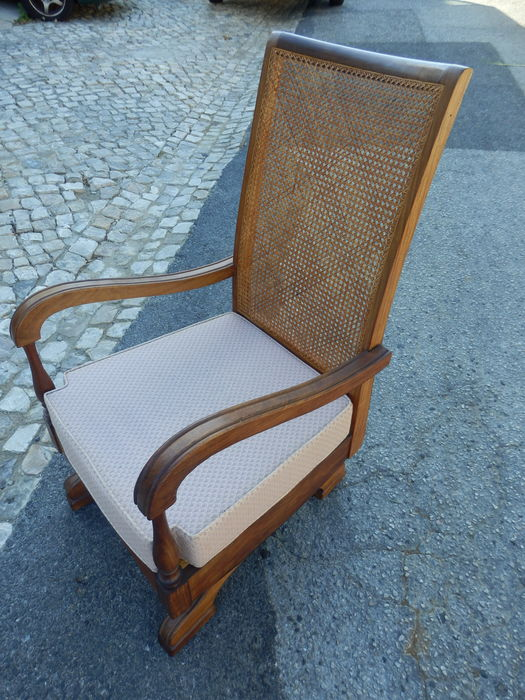 Surprising A Chinese Solid Chestnut Wood Platform Rocker Chair China Second Half 20Th Century Catawiki Gmtry Best Dining Table And Chair Ideas Images Gmtryco