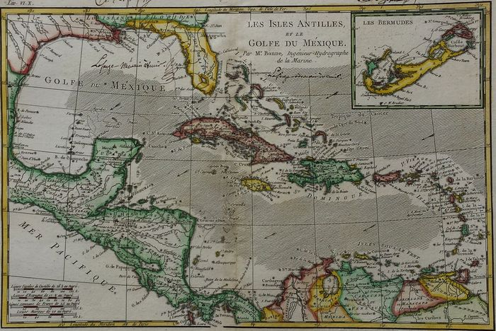 America Central America Gulf Of Mexico Antilles G T Raynal
