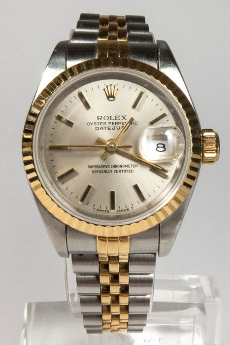rolex oyster perpetual datejust damenuhr ca 1981 catawiki. Black Bedroom Furniture Sets. Home Design Ideas