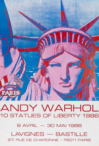 Andy Warhol (after) - 10 Statues of Liberty