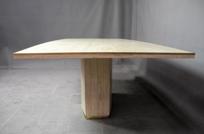 Willy Rizzo Pour Jean Charles Luxueuse Table De Salle