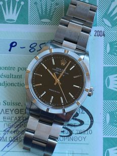 Rolex Airking – Unisex - Papers.2004 year.
