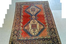 Eye-catcher:  Rare Afshar Persian carpet 215 x 155 cm.