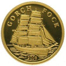 Cook Island– 10 Dollars 2008, Gorch Fock - gold