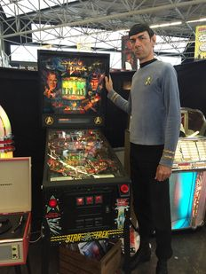 Star Trek 25th Anniversary Edition Pinball Machine (1991) Data East