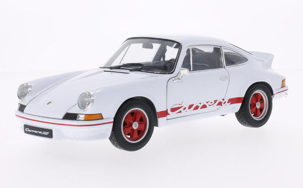 Welly - 1:18 - Porsche 911 Carrera RS 1973 (Red/White) - Mint Boxed - Limited Edition