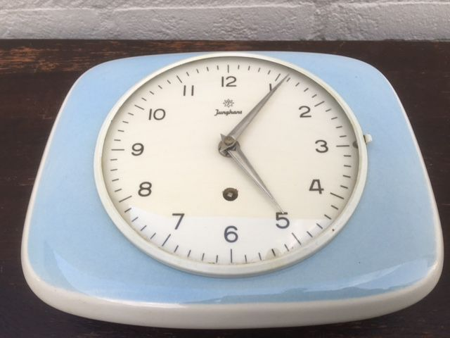 Fantastic Junghans Kitchen Clock Is Completely Made Of Ceramics Download Free Architecture Designs Rallybritishbridgeorg