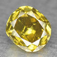0.30 ct fancy cushion cut diamond.