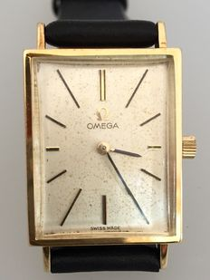 Omega dress watch approx. 1955 in gold.
