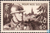 Postage Stamps - France [FRA] - For our soldiers