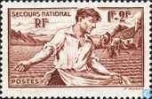 Postage Stamps - France [FRA] - National aid